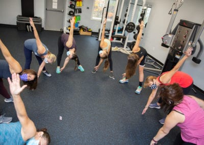Group fitness class scarborough maine