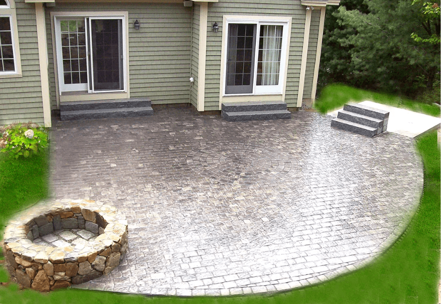 Firepit.scarborough-hardscape-patio-steps