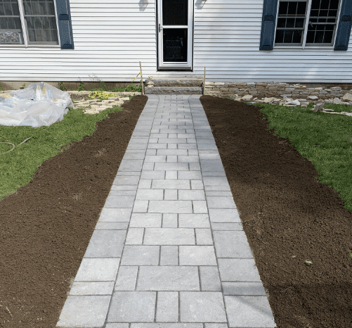 grainte walkway-rockwall-edging